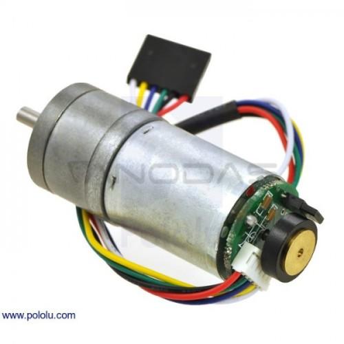 Metal Gearmotor 25Dx54L HP 99:1 12V 100RPM + enkoder CPR 48