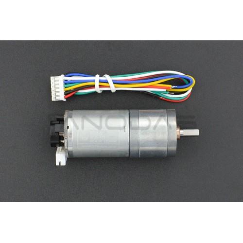 Metal DC Geared Motor 6V 100RPM + enkoder