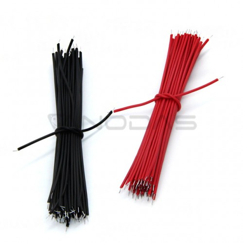 Copper Cables 0.96cm (100pcs black)