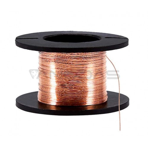 12m 0.1MM Copper Soldering Solder Enamelled Reel Wire Roll Connecting