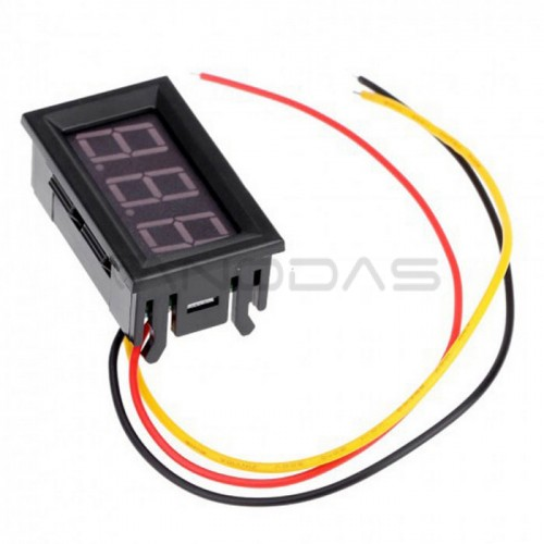 Digital Voltmeter DC 0-100V