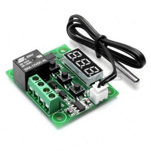 W1209 DC 12V -50 to +110 Temperature Control Switch
