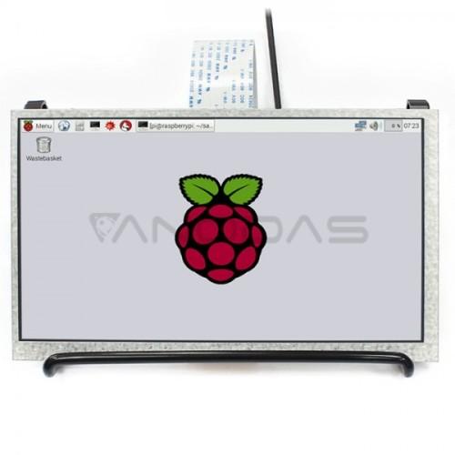Waveshare Ekranas Raspberry Pi 3/2/Zero Mikrokompiuteriui -  LCD IPS 7