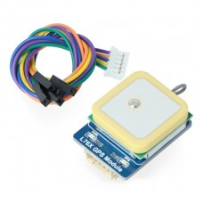 Waveshare GPS modulis L76X Multi-GNSS GPS/BDS/QZSS