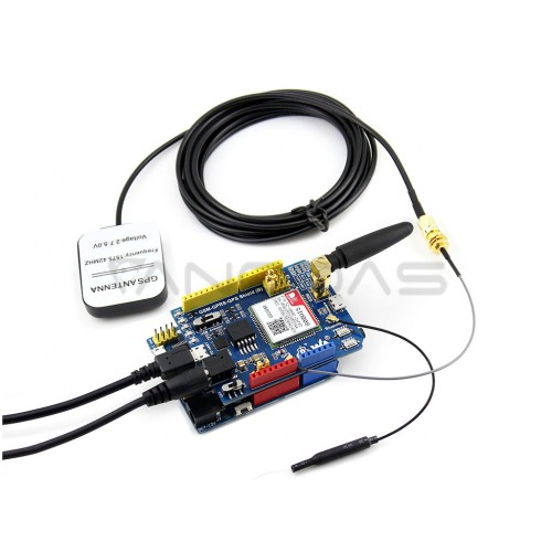 Waveshare GSM/GPRS/GPS SIM808 Shield for Arduino