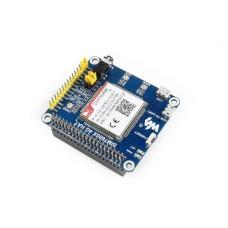 Waveshare LTE GPS HAT - LTE/GPRS/GPS SIM7600E-H - Modelis Skirtas Raspberry Pi