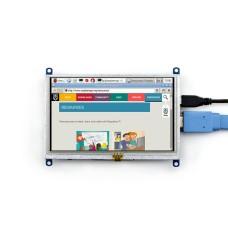 Waveshare Varžinis lietimui jautrus ekranas Raspberry Pi mikrokompiuteriui - LCD TFT 5