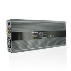 Whitenergy Inverteris AC/DC 12V 230V 2000W 2 lizdai