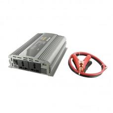 Whitenergy Inverteris AC/DC 24V 230V 1000W 2 lizdai