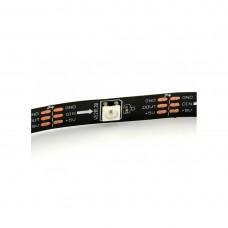 LED Šviesos Diodų Juosta WS2811 60 LED/m 12V 18W IP30 1m RGB