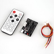 Stepper Motor Drive Adjustable Speed Controller and Remote Control