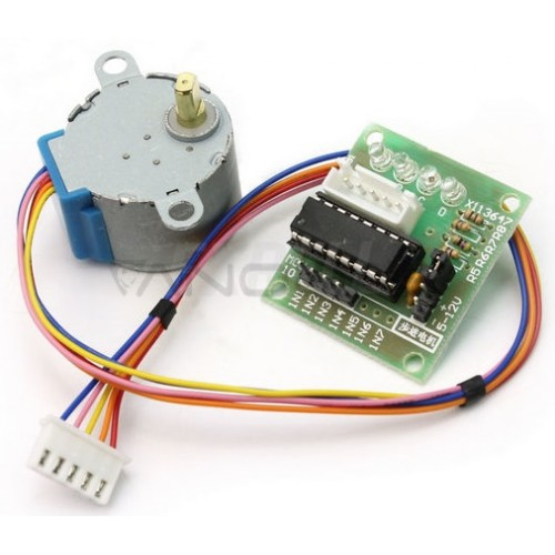 28BYJ-48 Stepper Motor with Motor Driver Board ULN2003