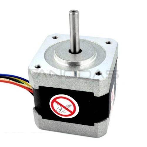 Žingsninis variklis 42BYGH102U 200 žingsnių/aps 3.6 V / 1.2 A / 0.30 Nm