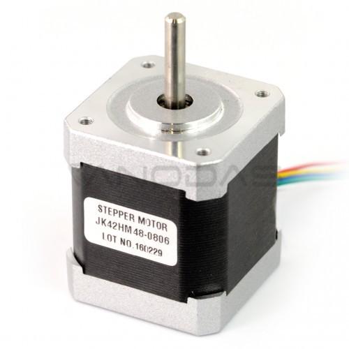 Žingsninis variklis 42HM40-1684 400 žingsnių / aps 3.0V / 1.68A