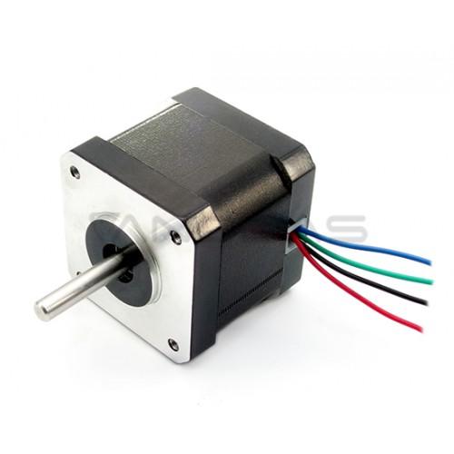 Žingsninis variklis 42HM40-1684 400 žingsnių/aps 2.8V / 1.68A / 0.32Nm