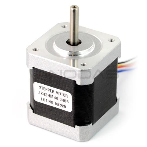 Žingsninis variklis 42HM48-0406 400 žingsnių/aps 12V / 0.4A / 0.31Nm