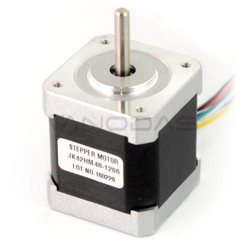Žingsninis variklis 42HM48-1206 400 žingsnių/aps 4.0V / 1.2A / 0.31Nm