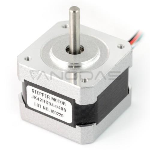 Stepper motor 42HS34-0406 200 steps / rev 10V / 0.4A / 0.15Nm
