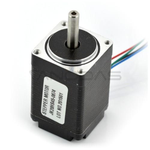 Stepper motor JK28HS45-0674 200 steps / rev 4.5V / 0.67A / 0.09Nm