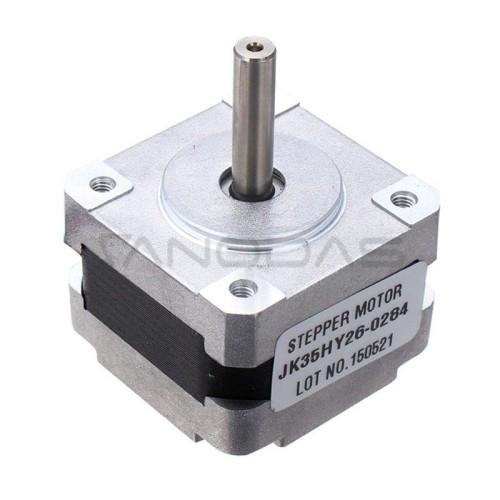 Žingsninis variklis JK35HY26-0284 200 žingsnių/aps 7,4V / 0,6A / 0,064Nm