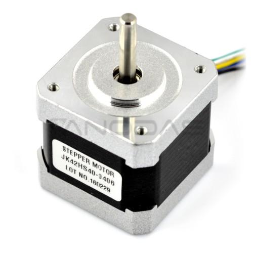 Stepper motor JK42HS40-0406 200 steps / rev 12V / 0.4A / 0.25Nm