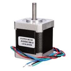 Žingsninis variklis JK42HS48-1684 200 žingsnių/aps  2.8V / 1.68A / 0.43Nm