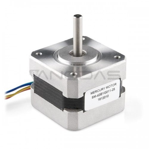 Stepper motor SM-42BYG011 200 steps/rev 12V/ 0.33A/ 0.22Nm