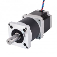 Stepper motor with planetary gearbox 1:10 57HS7630A4XG 200 steps / rev 3V / 3A / 6Nm