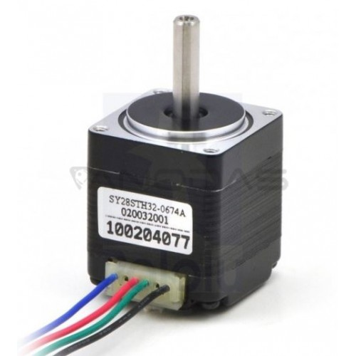 Stepper motor SY28STH32-0674A 200 steps / rev 3.8 V / 0.67 A / 0.06 Nm