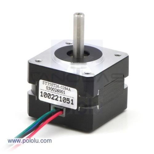 Žingsninis variklis SY35ST26-0284A 200 žingsnių/aps 7.4 V / 0.28 A / 0.063 Nm