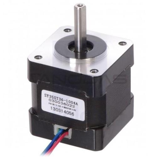 Žingsninis variklis SY35ST36-1004A 200 žingsnių/aps2.7V 1.0A 0.14Nm