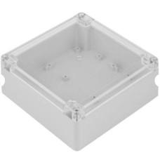 Plastic box Kradex ZP150 light gray 150x150x60mm